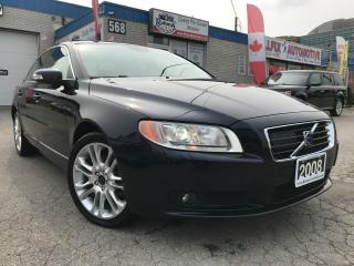 Used 2008 Volvo S80 3.2 AWD_NAVI_LEATHER_SUNROOF for sale in Oakville, ON