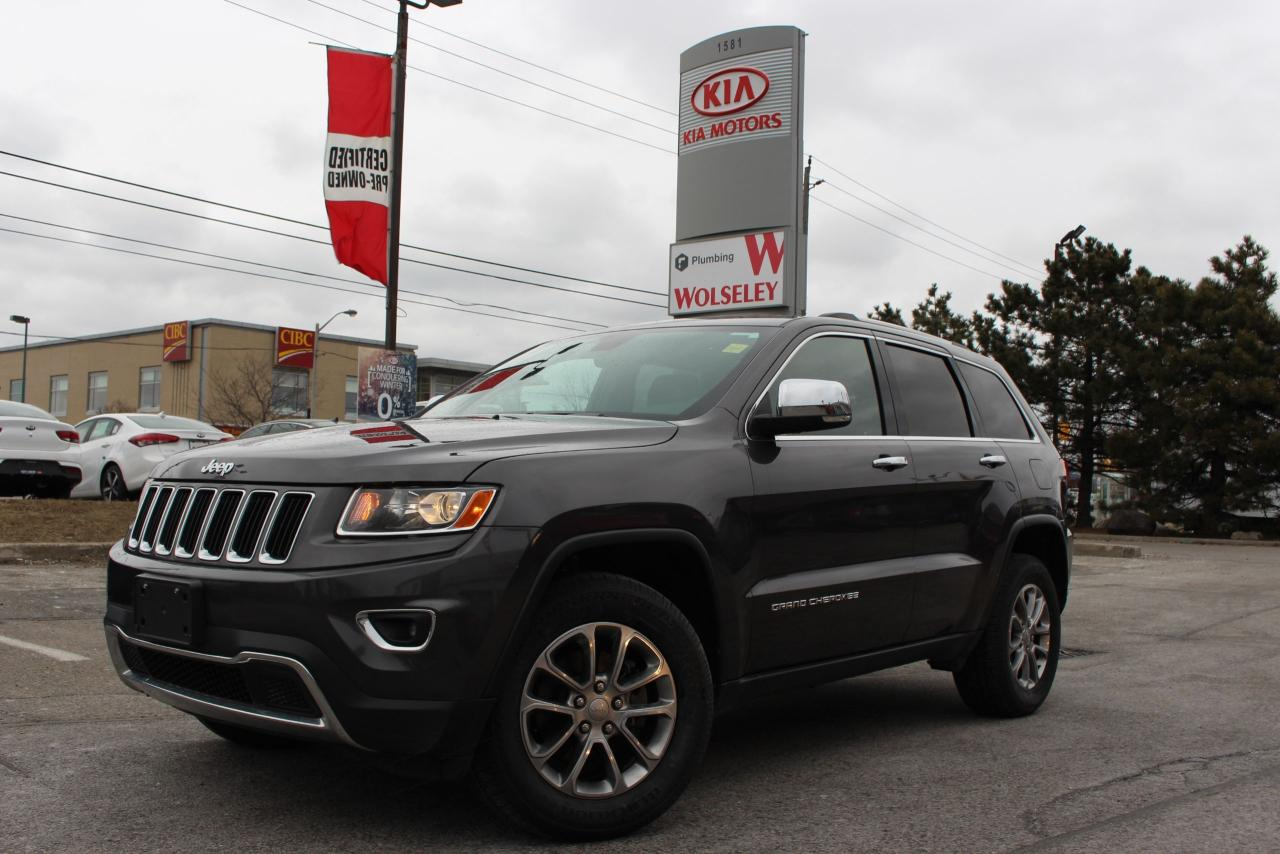 Used 2016 Jeep Grand Cherokee Limited 4x4 Leather Power Liftgate