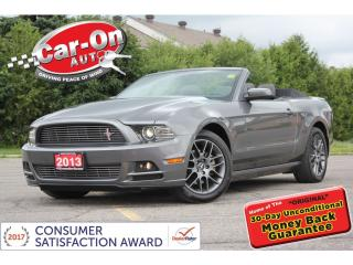 Used 2013 Ford Mustang Premium ONLY 27,000 KM LEATHER SHAKER LOADED for sale in Ottawa, ON