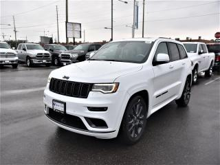 Used 2018 Jeep Grand Cherokee Overland HIGH ALTITUDE/NAVI/DUAL PANE SUNROOF/ ONL for sale in Concord, ON