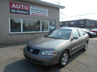 Used 2004 Nissan Sentra 1.8S ** 82 000 KM ** for sale in Saint-hubert, QC