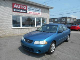 Used 2003 Nissan Sentra XE ** AUTOMATIQUE ** for sale in Saint-hubert, QC