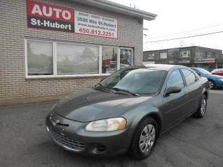 Used 2002 Chrysler Sebring LX for sale in Saint-hubert, QC