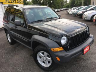 Used 2007 Jeep Liberty SPORT/ AUTO/ 4x4 / POWER GROUP/ LOADED! for sale in Scarborough, ON