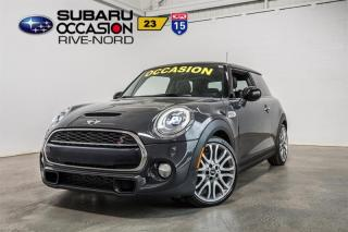 Used 2015 MINI Cooper S CUIR+TOIT.PANO+HID for sale in Boisbriand, QC