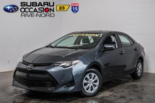 Used 2017 Toyota Corolla CE BLUETOOTH+A/C for sale in Boisbriand, QC