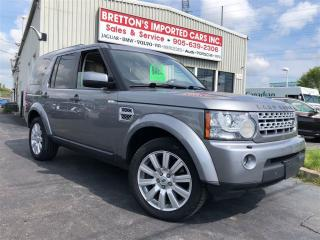 Used 2012 Land Rover LR4 LUX for sale in Burlington, ON
