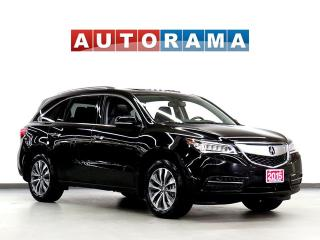 Used 2015 Acura MDX TECH PKG NAV BACKUP CAM LEATHER SUNROOF 7 PASS 4WD for sale in North York, ON