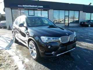 Used 2016 BMW X3 XDRIVE 28D DIESEL for sale in St-Hubert, QC