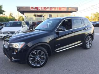 Used 2015 BMW X3 2015 BMW X3 XDRIVE|DIESEL|NAVI|AWD|PANOROOF|BLACK for sale in Mississauga, ON