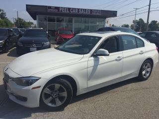 Used 2014 BMW 3 Series 2014 BMW 320I XDRIVE|WHITE ON BLACK|74K|SUNROOF| for sale in Mississauga, ON