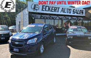 Used 2013 Chevrolet Trax 1LT WITH BLUETOOTH for sale in Barrie, ON