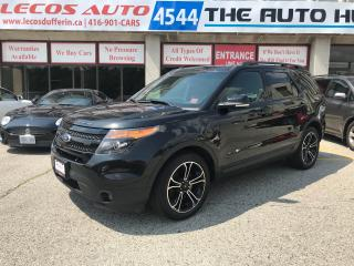 Used 2015 Ford Explorer Sport SPORT for sale in North York, ON