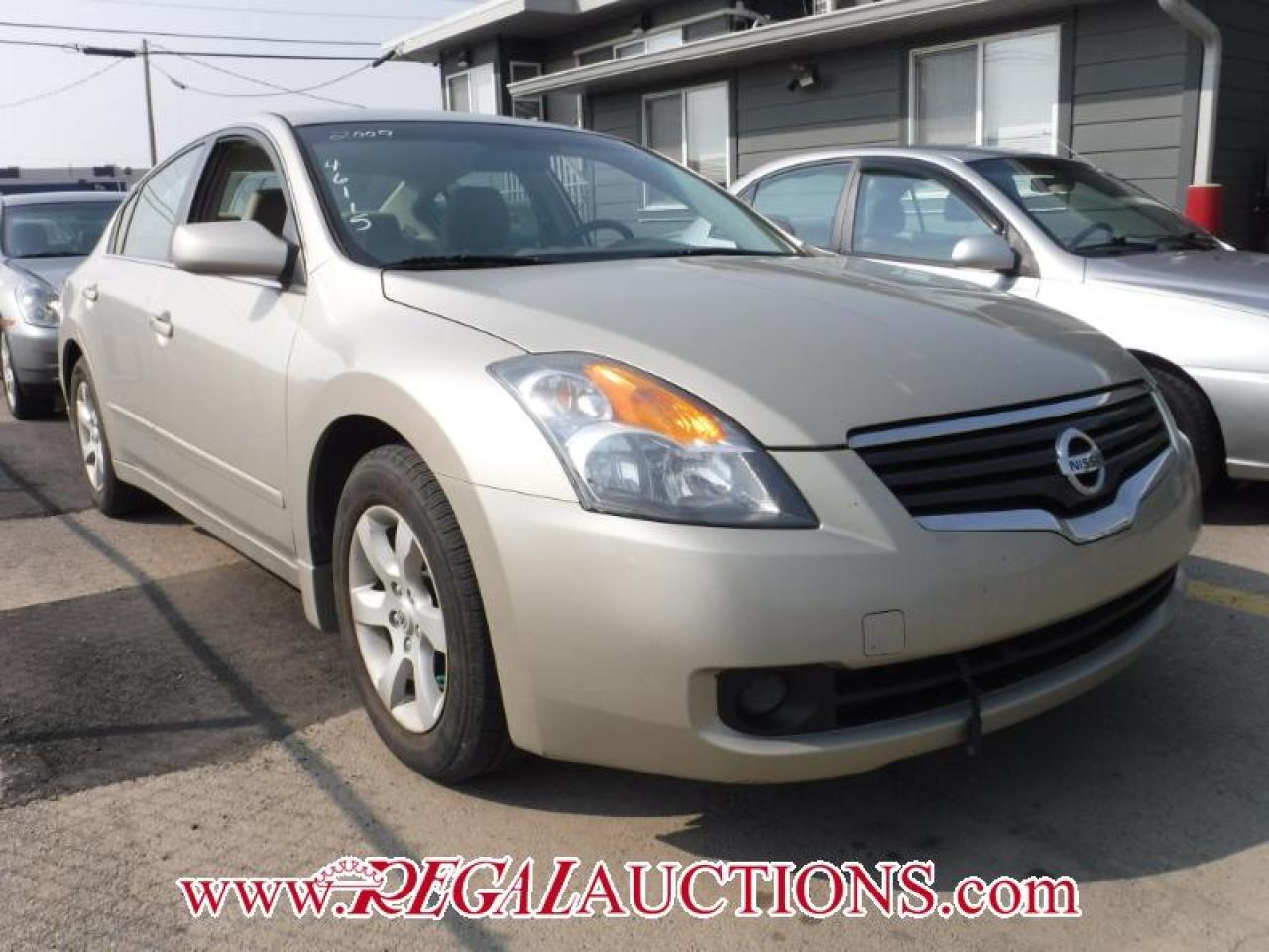 2009 Nissan Altima S 4D Sedan