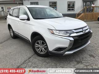 Used 2018 Mitsubishi Outlander ES | AWD | CAM | ONE OWNER for sale in London, ON