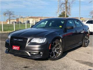 Used 2017 Chrysler 300 S**Leather**Sunroof**8.4 Touchscreen**NAV** for sale in Mississauga, ON
