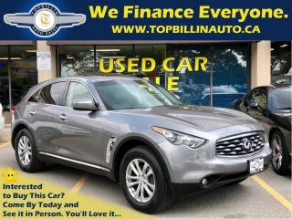 Used 2011 Infiniti FX35 AWD, Sunroof, Leather, Backup Camera for sale in Vaughan, ON