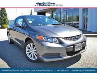Used 2012 Honda Civic EX-L Coupe with Navi, Local, Low Ks! for sale in Surrey, BC