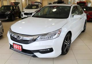 Used 2017 Honda Accord TOURING/ LEATHER / MEMORY SEATS/ DUAL ZONE CLIMATE for sale in Waterloo, ON