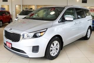 Used 2018 Kia Sedona LX PACKAGE/ 8 PASS / BACK UP CAM/ FACTORY WARRANTY for sale in Waterloo, ON