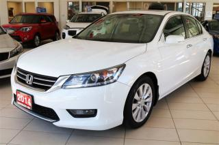 Used 2014 Honda Accord EX-L LEATHER/ROOF/NAV for sale in Waterloo, ON