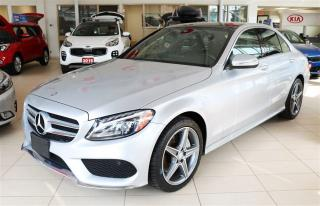 Used 2015 Mercedes-Benz C-Class C300 4 Matic / TURBO/ SPORT PKG/ PANO ROOF / NAV for sale in Waterloo, ON