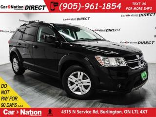 Used 2012 Dodge Journey SXT| TOUCH SCREEN| PUSH START| LOCAL TRADE| for sale in Burlington, ON