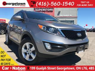 Used 2014 Kia Sportage LX 6SPD MANUAL| HTD SEATS| ALLOY RIMS| BLUE TOOTH for sale in Georgetown, ON