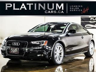 Used 2015 Audi A5 2.0T QUATTRO KOMFORT, LEATHER for sale in North York, ON