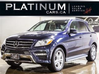 Used 2012 Mercedes-Benz ML 350 BlueTEC, NAVI, PANO, CAM, LTHR for sale in Toronto, ON