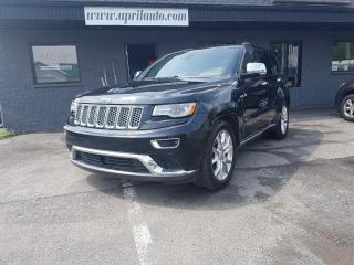 Used 2014 Jeep Grand Cherokee Summit 3.6l Mags 20 for sale in Lévis, QC