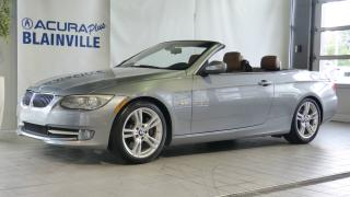 Used 2011 BMW 3 Series 335i Cabriolet for sale in Blainville, QC