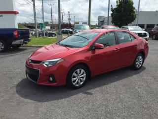 Used 2015 Toyota Corolla Bancs Ch., Caméra for sale in Saint-hubert, QC