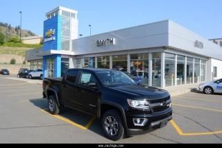 New 2018 Chevrolet Colorado Z71 for sale in Kamloops, BC