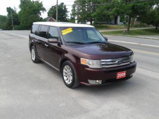 Used 2009 Ford Flex AWD (Ronnie B's Bloomfield) 6 seater Safetied SEL for sale in Madoc, ON