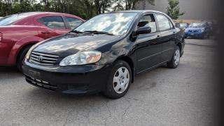 Used 2003 Toyota Corolla CE for sale in Mississauga, ON