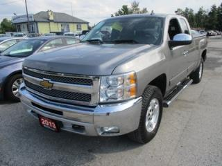 Used 2013 Chevrolet Silverado 1500 WORK READY LT EDITION 6 PASSENGER 5.3L - V8.. 4X4.. EXT-CAB.. SHORTY.. TRAILER BRAKE.. CD/AUX INPUT.. KEYLESS ENTRY.. for sale in Bradford, ON