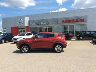 Used 2014 Nissan Juke SV FWD 6sp for sale in Smiths Falls, ON