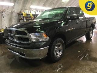 Used 2012 Dodge Ram 1500 SXT*QUADCAB*4X4*HEMI*RamBox Cargo Management System*Uconnect Voice Command with Bluetooth*Class 4 Receiver Hitch*Spray in Bedliner*5.7-Liter V8 HEMI M for sale in Cambridge, ON