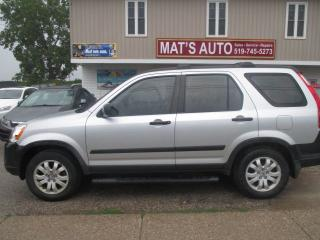 Used 2006 Honda CR-V LX 4WD for sale in Waterloo, ON
