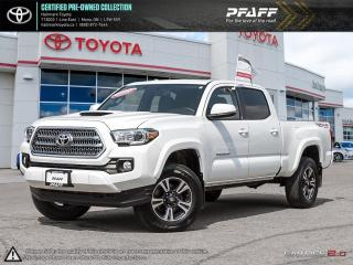 Used 2016 Toyota Tacoma 4x4 Double Cab V6 SR5 6A LOAED SUNROOF TRD PACKAGE BLUETOOTH AND MORE for sale in Orangeville, ON