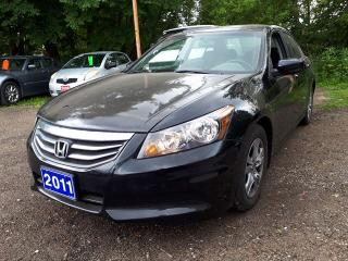 Used 2011 Honda Accord Sdn SE,certified for sale in Oshawa, ON