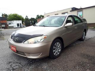 Used 2005 Toyota Camry CERTIFIED for sale in Oshawa, ON