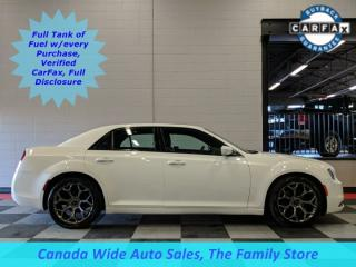 Used 2017 Chrysler 300 S, Leather, Panoramic Sunroof, Navigation, Back Up Camera, Remote Start, Accident Free for sale in Edmonton, AB
