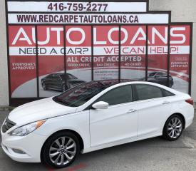 Used 2013 Hyundai Sonata 2.0T Limited LIMITED-0% DOWN ALL CREDIT ACCEPTED for sale in Scarborough, ON