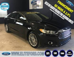 Used 2013 Ford Fusion SE, CUIR, TOIT OUVRANT, GPS for sale in Saint-jerome, QC