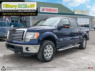 Used 2011 Ford F-150 XLT. SUPER CREW. RUNNING BOARDS. TONNEAU COVER. for sale in Tilbury, ON