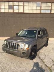 Used 2008 Jeep Patriot Sport - 4x4 - CERTIFIED for sale in North York, ON