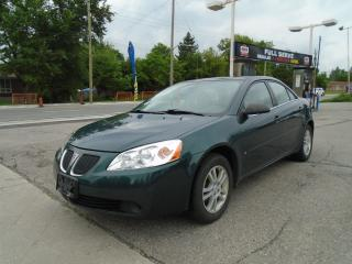 Used 2006 Pontiac G6 AUTO & AIR for sale in King City, ON
