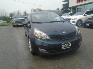 Used 2013 Kia Rio LX IPOD,USB,NO ACCIDENTS for sale in Oakville, ON